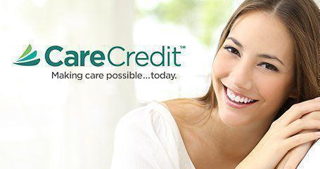 Care Credit Logo with background image