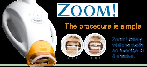 Zoom Teeth Whitening Light
